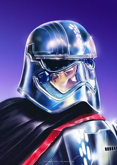 Captain Phasma - Created by Flore Maquin