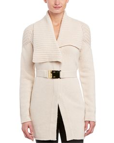 ESCADA Wool, Cashmere, & Silk-Blend Sweater Coat is on Rue. Shop it now.