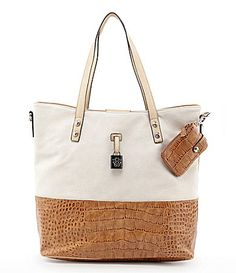 Jessica Simpson Carry Away Tote bag (more color combos too!) - Dillards