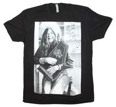 7d5e9af6042 Janis Joplin Good Luck Laugh T-Shirt X-Large. Vintage Band T ShirtsBand  ShirtsTee ShirtsHippie ...