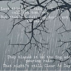clear as day - scotty mccreery