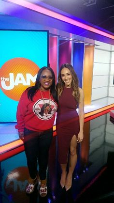 Had fun playing Race The Loop on The Jam @thejamtvshow I picked Danielle and although we didn't Win the race we still had a good time. Turnt 🆙 Early