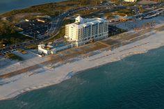 Jimmy Buffett's Margaritaville Hotel.  I'm not kidding you - this is a very elegant beach hotel!