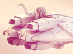 Dribbble - In Space.. by Timothy J. Reynolds