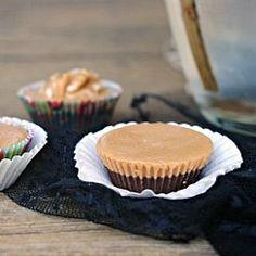 Chocolate Peanut Butter Cups {gluten-free, sugar-free, vegan}