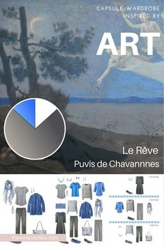 How to Pack for a Long Weekend by Starting with Art: Le Rêve by Puvis de Chavannnes | The Vivienne Files | Bloglovin'