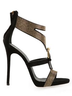 Shop Giuseppe Zanotti Design studded sandals in Hirshleifers from the world's best independent boutiques at farfetch.com. Over 1000 designers from 300 boutiques in one website.