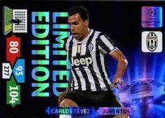 Champions League Adrenalyn XL 2013/2014 Carlos Tevez 13/14 Limited Edition