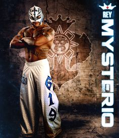 Rey Mysterio WWE wrestler future Hall Of Fame inductee. From San Diego, California. Mexican family and traditions. Friends with Sin Cara.