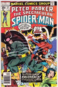 Title: Spectacular Spider-Man (Peter Parker)   Year: 1976   Publisher: Marvel   Number: 13   Print: 1   Type: Regular   TitleId: 5d40f9ff-adb2-4cbd-8b93-352766854c89