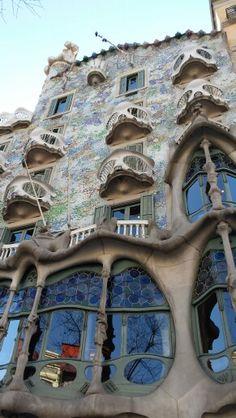 Casa Balto, Gaudí,  Barcelone