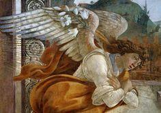 Sandro Botticelli - Botticelli / Angel of the Annunciation                                                                                                                                                                                 Mehr