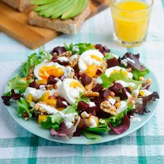 Beetroot, egg and pepper salad | Healthy recipes | Red Online