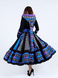Go Ask Alice  Custom Sized Purple and Blue by EnlightenedPlatypus, $1388.00