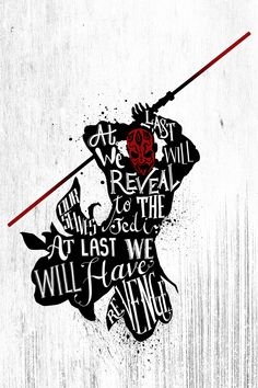 """pixalry: """" Star Wars Handlettering Quotes - Created by Jiaqi He """""""