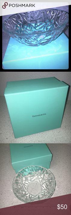 """6"""" Tiffany & Co. Rock Cut Bowl. NIB Rock Cut Tiffany & Co. Bowl. 6"""" original packaging. Candy dish, crystal bowl. Tiffany & Co. Other"""
