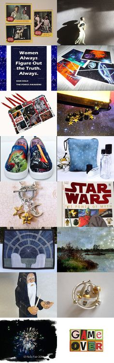 The Force is Strong ... Get your Geek On! by spoiledfelines1 on Etsy--Pinned+with+TreasuryPin.com #integritytt