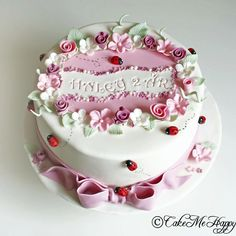 Gorgeous cake from CakeMeHappy