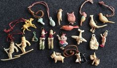 1940s Vintage Cracker Jack Celluloid Charms Toys Prizes Mixed Lot Of 21    eBay