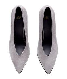 Grey Pumps | H&M Shoes