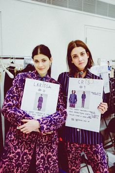 Paul Smith | Fall 2014 RTW london fashion week backstage