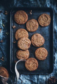 Swedish butterscotch gingerbread cookies