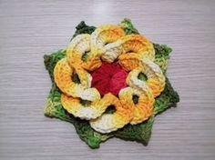 Flor em Crochê 6 Bicos com Uma Toalhinha,para Fazer Trilho de mesa com Cristina Coelho Alves - YouTube