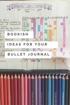 Bullet journal fans! We've rounded up some rad layouts to track your reading and bookish ways.