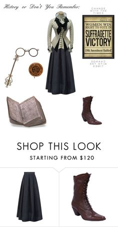 """""""She Was Violent. She Was a Leader. She Was a Boss!"""" by sanestyle ❤ liked on Polyvore featuring Maria Grachvogel and Spicher and Company"""