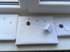 Paref gift wrapping for your holiday time. Holiday Time, Christmas Time, Christmas Settings, Paper Gifts, Gift Bags, Create Yourself, Etsy Seller, Wraps, Gift Wrapping