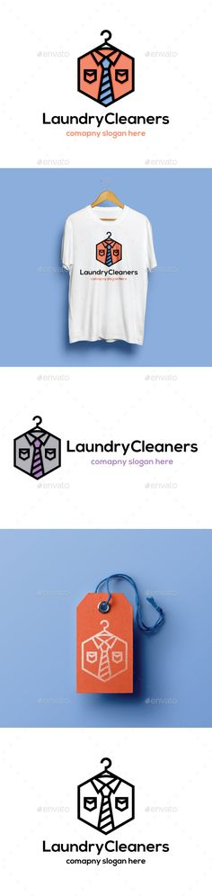 Laundry Cleaners - Objects Logo Templates  Download here: https://graphicriver.net/item/laundry-cleaners/21624268?s_rank=7&ref=wildhan532