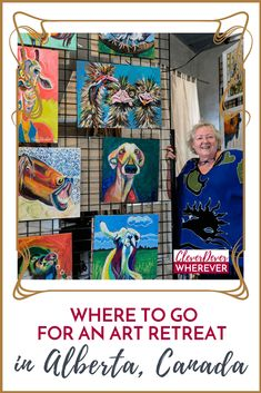 Looking for a creative getaway? Where to go for an art retreat in Alberta, Canada New Travel, Canada Travel, Travel Plan, Alberta Travel, Literary Travel, Local Festivals, Visit Canada, Peace On Earth, South America Travel