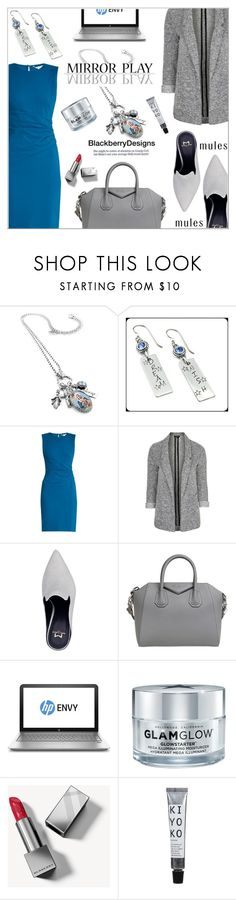 """Mirror Play"" by shambala-379 ❤ liked on Polyvore featuring Diane Von Furstenberg, Topshop, Givenchy, GlamGlow and Burberry"