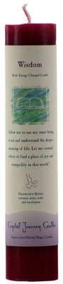 Wisdom Reiki Charged Pillar Candle