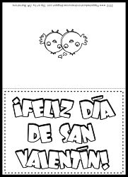 FREE Spanish Valentine Card