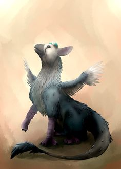 Trico by Rebexorcist.deviantart.com on @DeviantArt