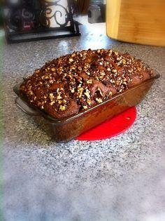 Cinnamon Cranberry & Pecan Squash Bread #bread #fall #cleaneating