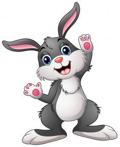 Happy rabbit cartoon vector image on VectorStock Cartoon Cartoon, Kids Cartoon Characters, Cartoon Rabbit, Logo Rabbit, Rabbit Vector, Alien Drawings, Cool Drawings, Animated Rabbit, Graffiti