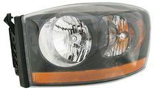 DODGE 06 RAM PU HL ASSY W/ BLACK BEZEL LEFT SIDE ( DRIVER SIDE) CH2519115 #AftermarketProducts