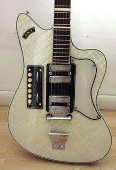 cool 1960 Eko 400 guitar