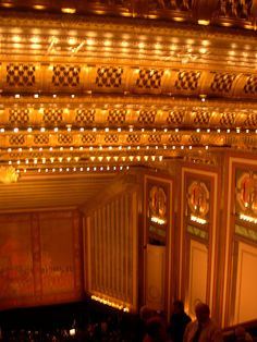 Chicago Lyric Opera House (My very first opera experience was here...)