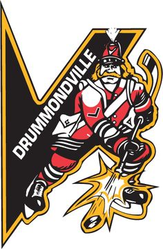 Drummondville Voltigeurs Primary Logo on Chris Creamer's Sports Logos Page - SportsLogos. A virtual museum of sports logos, uniforms and historical items. Hockey Logos, Nhl Logos, Sports Logos, Dek Hockey, Hockey World, National Hockey League, Festival Posters, Etchings, Art Logo
