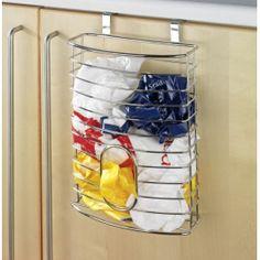 Organizador de bolsas para colocarlas en cualquier mueble de la cocina.