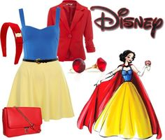 """""""Disney princess inspired outfit"""" by danniesousa on Polyvore"""