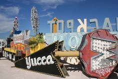 The neon boneyard: Where classic Vegas neon signs have gone to die, or do they? We get a reputation for everything being bright and shiny and new, but that doesn't mean we just throw stuff out when we're finished with them. More than 120 of Vegas' iconic neon signs have been restored to their former glory and are on display for new generations to enjoy.