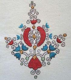 Costume and Embroidery of Sárköz, Hungary Chain Stitch Embroidery, Types Of Embroidery, Embroidery Stitches, Embroidery Patterns, Hand Embroidery, Machine Embroidery, Stitch Head, Hungarian Embroidery, Straight Stitch