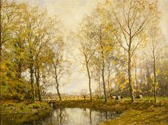 Arnold Gorter (Dutch, 1866-1933). October Morning, ca. 1910. Charles and Emma Frye Collection, 1952.050