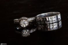 White Gold Duck Band Wedding Rings