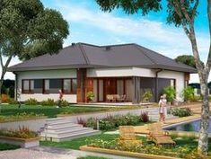 DOM.PL™ - Projekt domu PJK Ka34 CE - DOM GW1-42 - gotowy koszt budowy Dom, Outdoor Decor, Home Decor, Decoration Home, Room Decor, Home Interior Design, Home Decoration, Interior Design