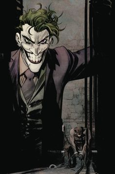 This issue, it's Jack versus the Joker! Napier's identity crisis spins out of control and compromises his grand plans for Gotham City - but not before he strikes a fateful bargain with Neo Joker. Joker Batman, Der Joker, Joker Art, Batman Art, Joker And Harley Quinn, Joker Comic, Black Batman, Comic Books Art, Comic Art